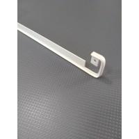 Стикова планка для стільниці LUXEFORM пряма колір RAL1013